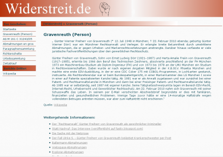 Referenz: widerstreit.de